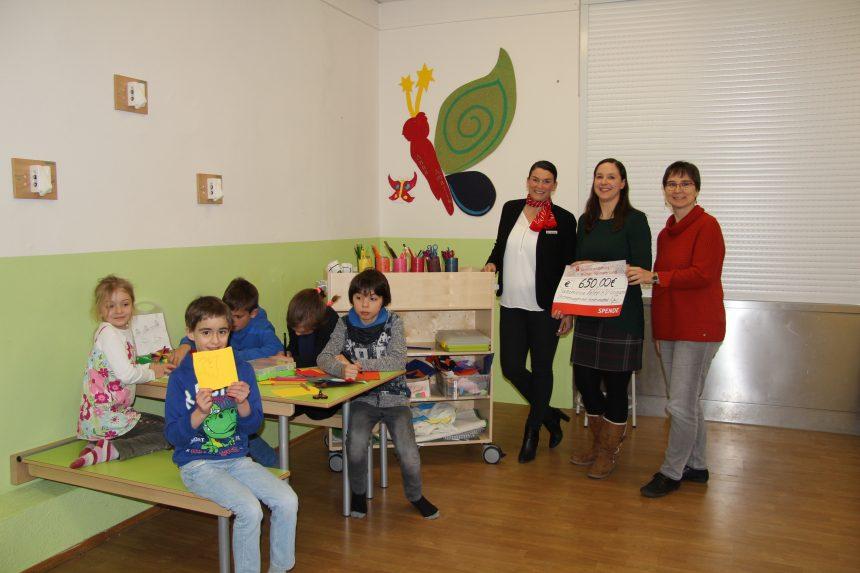 Sparkasse Mittelthüringen unterstützt unser Projekt in der Anna Amalia Grundschule