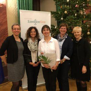 Würdigung zum Thüringer Familienpreis 2015